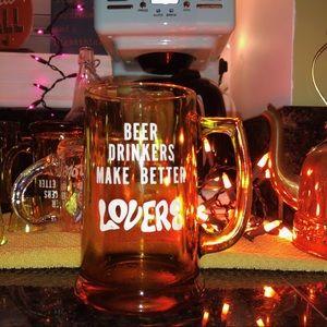 Accessories - 60s 70s woodstock vintage beer lovers mug pitcher
